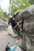 Trainingslager Climbing-Team, Fontainebleau 2014